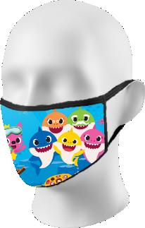 Baby Shark Face Mask