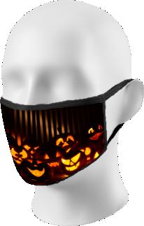 Halloween Pumpkins Face Mask