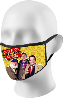 Only Fools and Horses Face Mask
