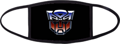 Transformers Face mask