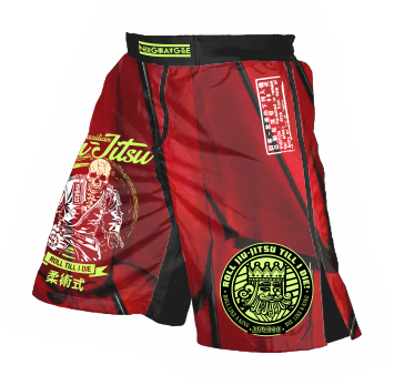 All over printing MMA Shorts