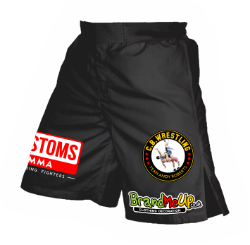 Patch Printed MMA Shorts