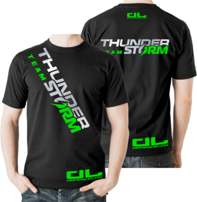 DL Team THUNDER STORM T-shirt