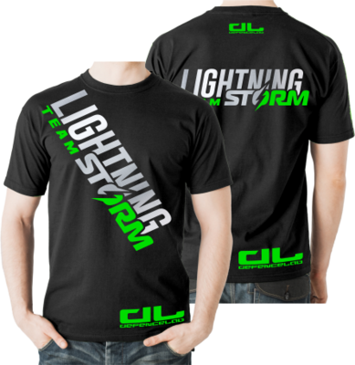 DL Team LIGHTNING STORM T-shirt