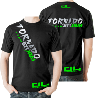 DL Team TORNADO STORM T-shirt