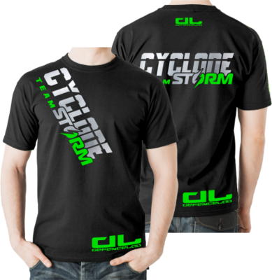 DL Team CYCLONE STORM T-shirt