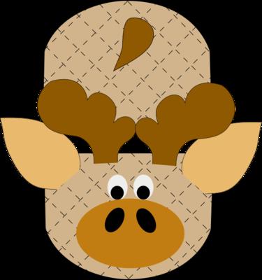 Moose animal oven mitt sewing machine pattern and tutorial