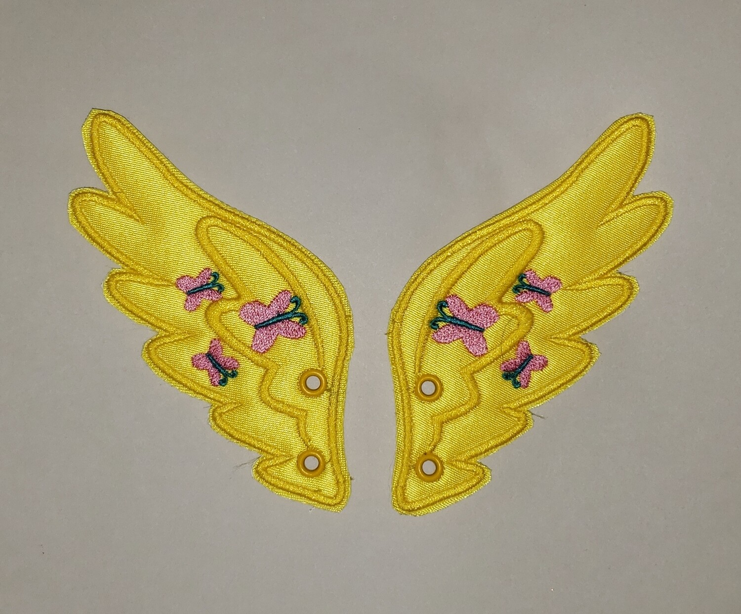 Fluttershy inspired shoe wings (finished product)