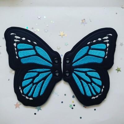 Butterfly monarch 5 inch shoe wings in custom colors