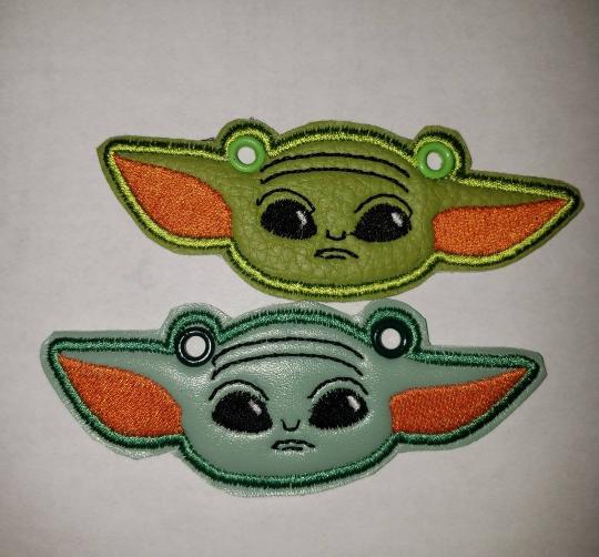 Baby Yoda Toe charms/wings