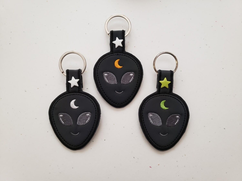 Keychain Alien