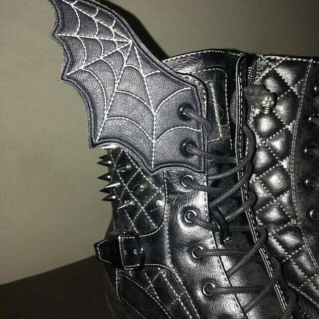 Bat wings Adult shoe wings customized