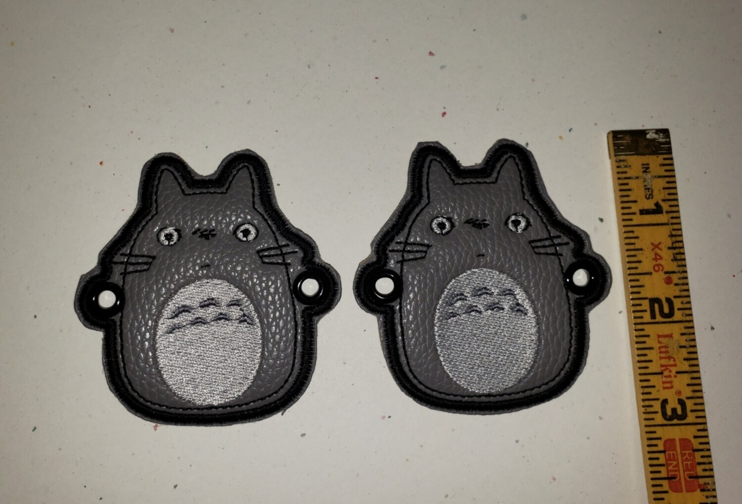 Totoro skate/shoe wings/lace charms