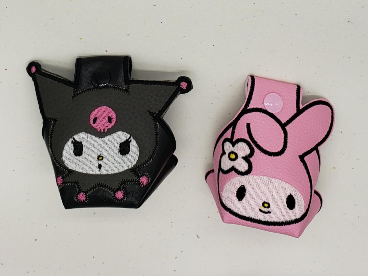 My Melody, Kuromi  or Badtz Maru toe guards - one pair