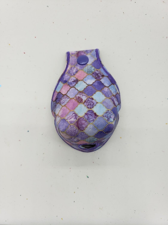 Purple decorative Toe guards rts