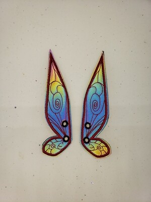 Fairy wings rainbow reflective