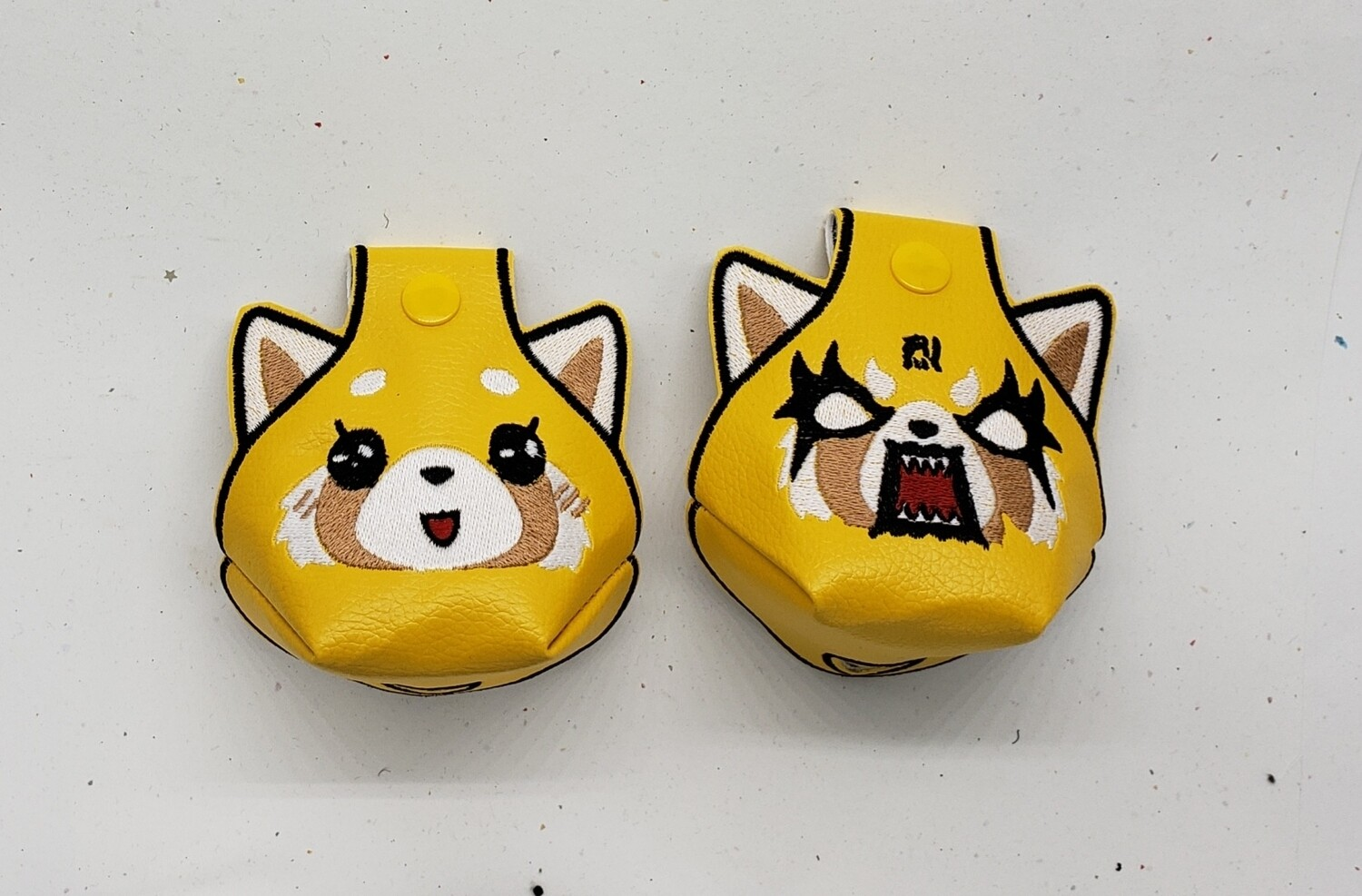 Aggretsuko (angry and cute)Toe guards