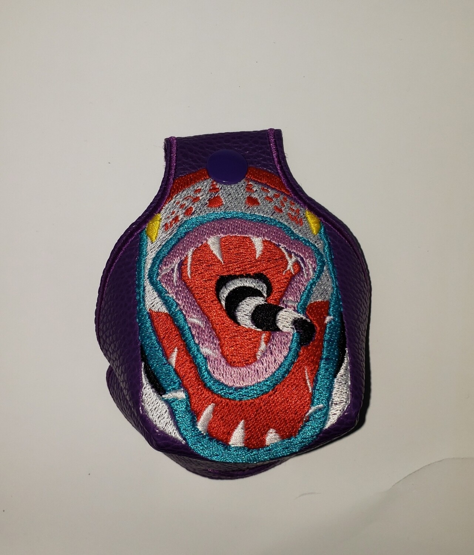 Custom Toe guard and wings sand snake