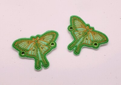 Luna moth lace accessories set of 2 rts smaller size than the others
