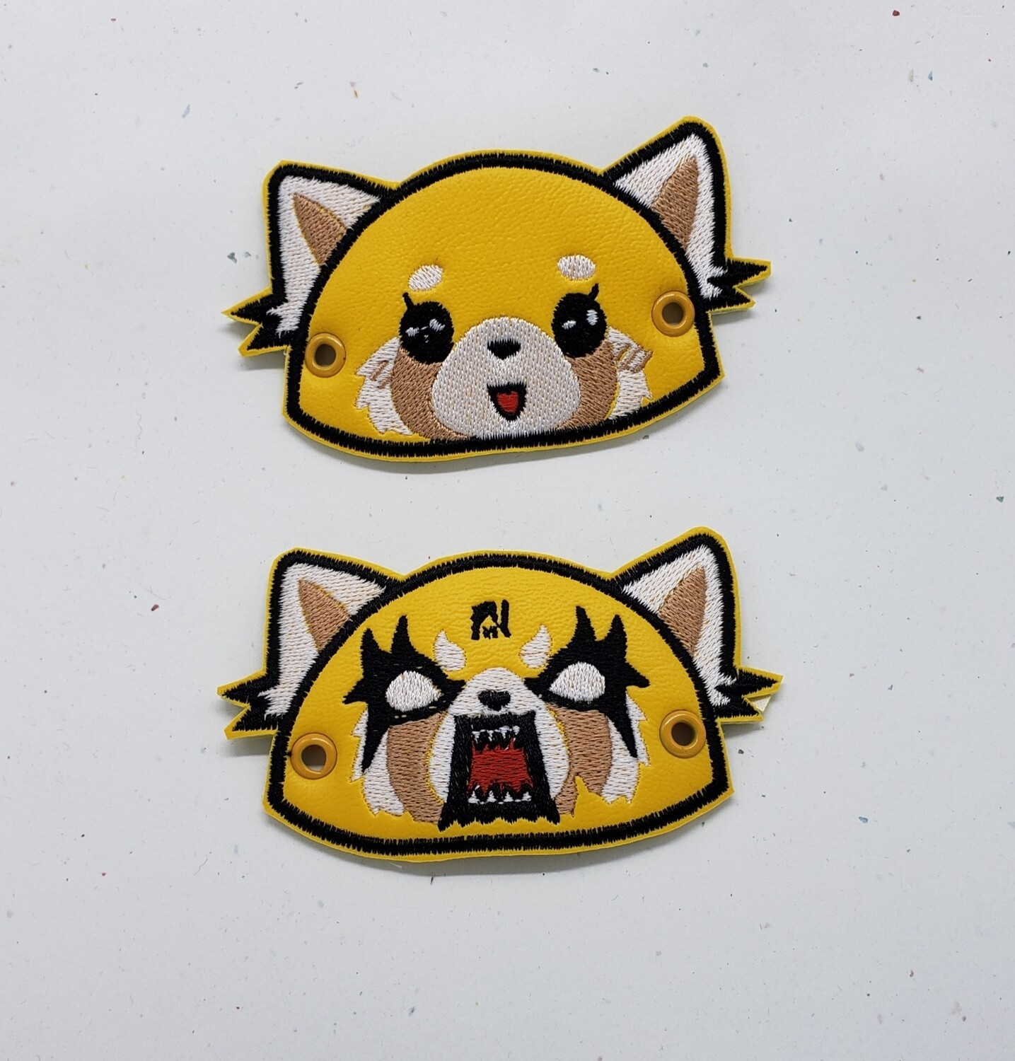 Aggretsuko (angry and cute ) lace accessories