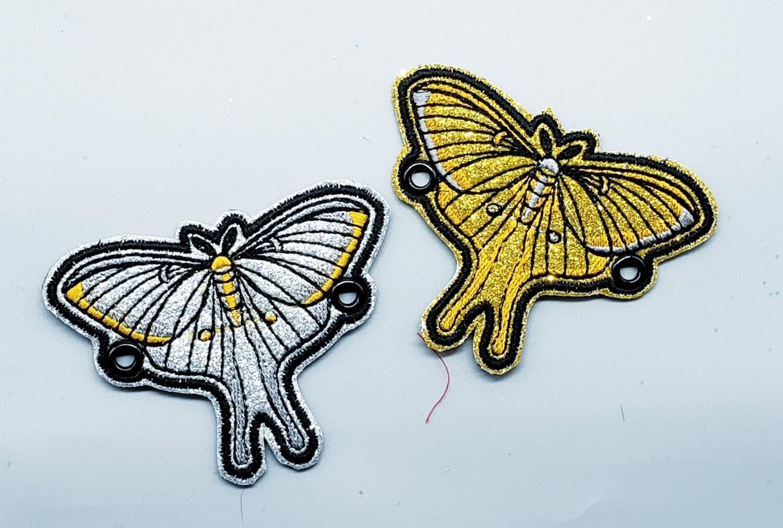 Luna moth custom lace accessories