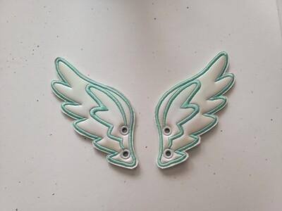 Angel2 skate/shoe wings Adult customized shoe wings