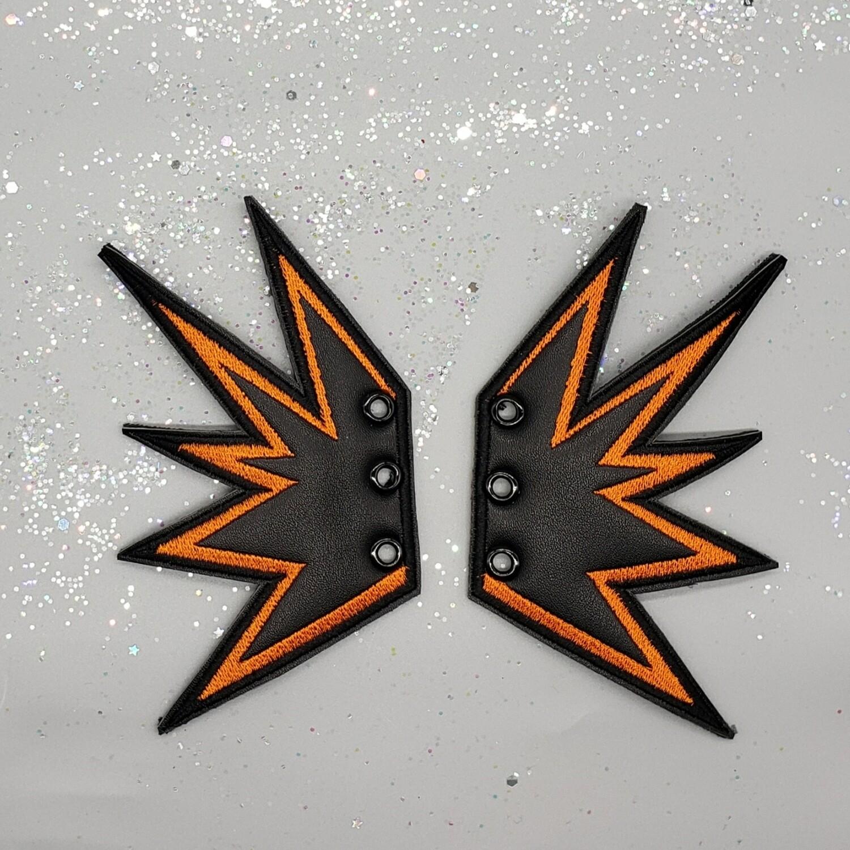 Explosion skate/shoe wings