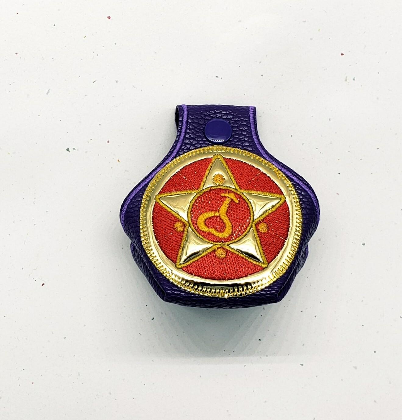 Sailor Mars on purple RTS