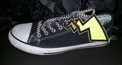 Pikachu tail Adult shoe wings (finished product)