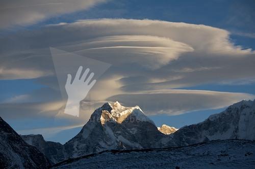 Kang Tenga mit Wolke