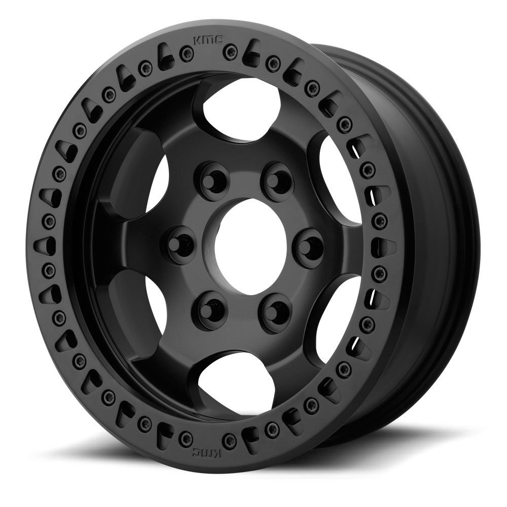 KMC XD231 RG Race 17x8.5 - Black