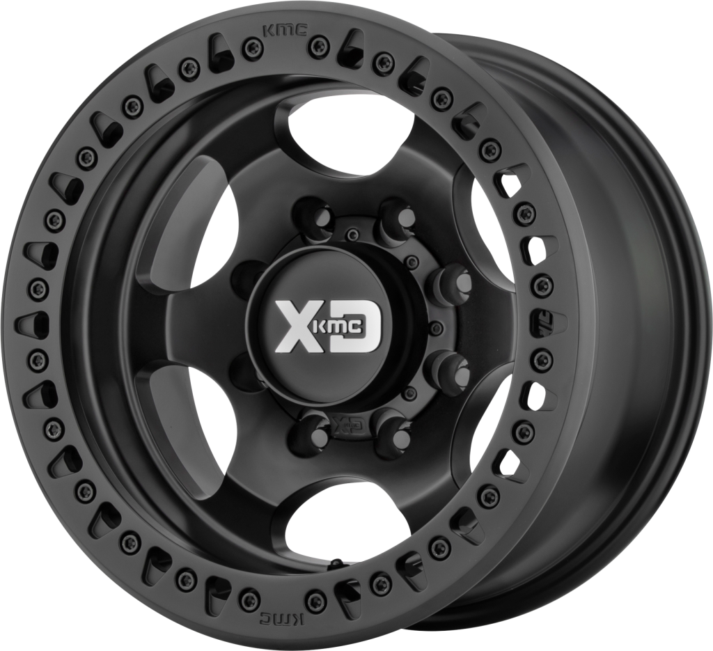 "KMC XD232 17x9 - 3.5"" Backspace - Satin Black"