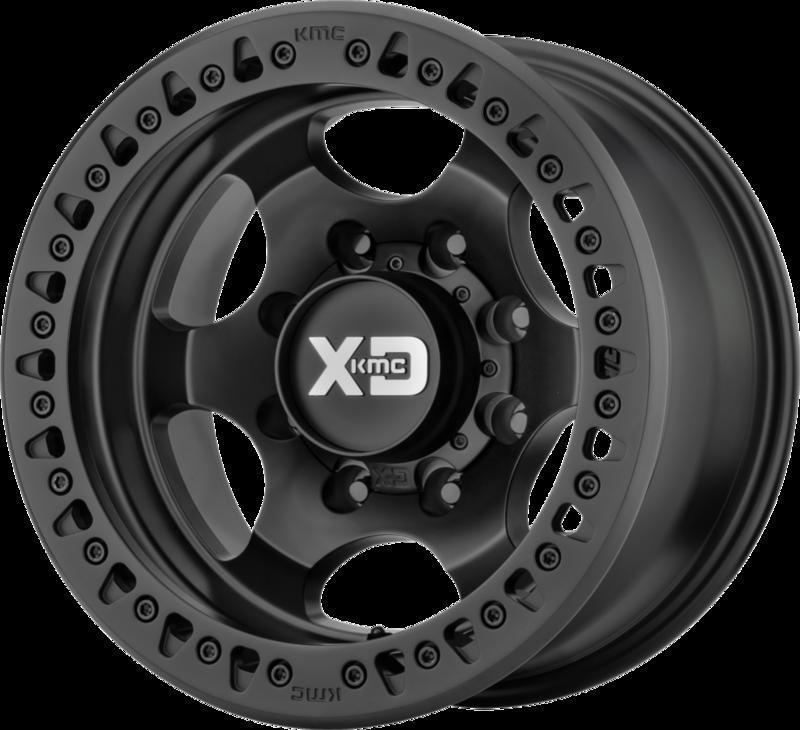KMC XD232 17x9 - 3.5