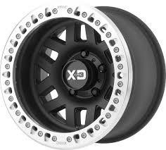 KMC XD229 Machete Crawl 17x9 - Black