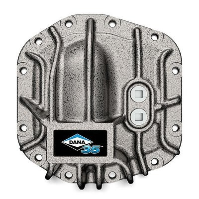 Dana Spicer 10044349 Differential Cover for Dana 35 Rear Axles for 18-19 Jeep Wrangler JL (Grey)