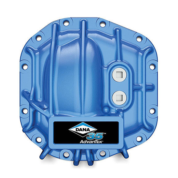 Dana Spicer 10053467 Differential Cover for Dana 35 Axles for 18-19 Jeep Wrangler JL (Blue)