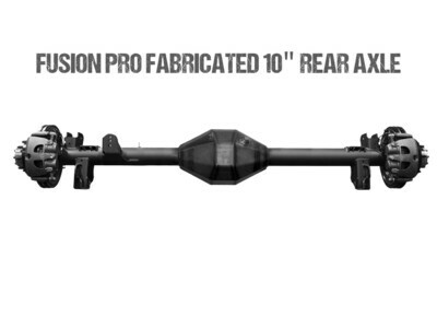 "Fusion Pro Series Fabricated 10"" Full Float Rear Axle - Jeep JK"