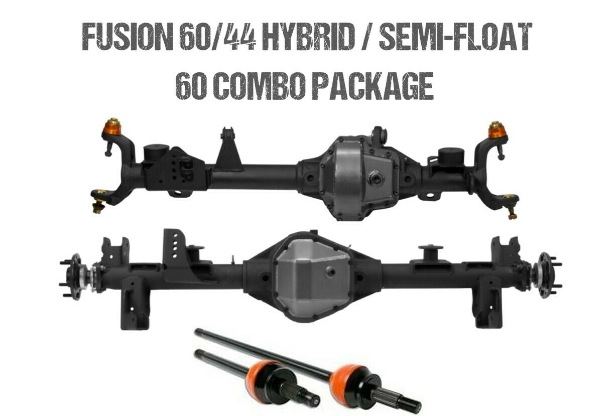 Fusion 60/44 Hybrid and Semi-Float 60 Package