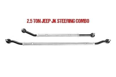 Jeep JK 2.5 Ton Drag Link & Tie Rod Combo