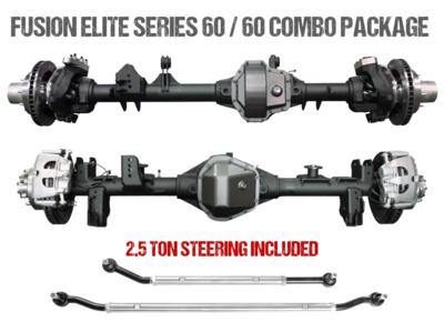 Fusion Elite Kingpin 60 | Elite Full Float 60 - Jeep Wrangler JL