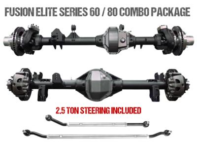 Fusion Elite Kingpin 60 | Elite 40 Spline 80 - Jeep Wrangler JL