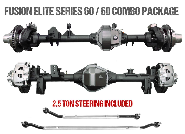 Fusion Elite Kingpin 60 | Elite Full Float 60 - Jeep Wrangler JK