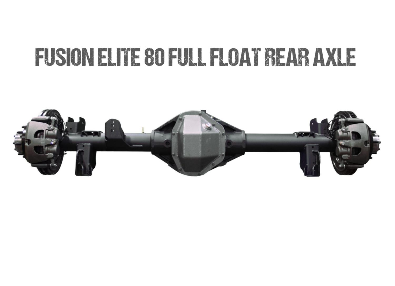 Fusion Elite 80 | 40 Spline Full Float Rear Axle for Jeep JK