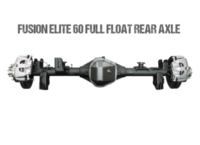 Fusion Elite 60 Full Float Rear Axle Assembly for Jeep Gladiator JT