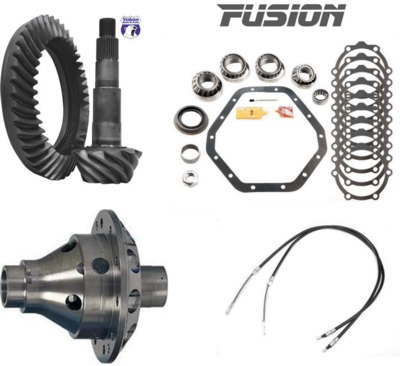 GM 14 Bolt Traction, Gears, Master Install Kit, JK E-Brake Cables!