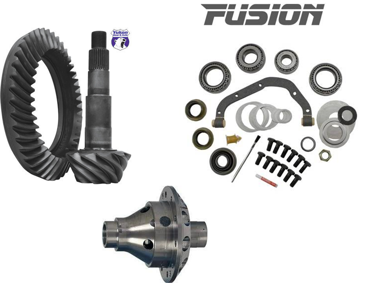 99-04 Ford Sterling 10.5 Traction, Gears, Master Install Kit