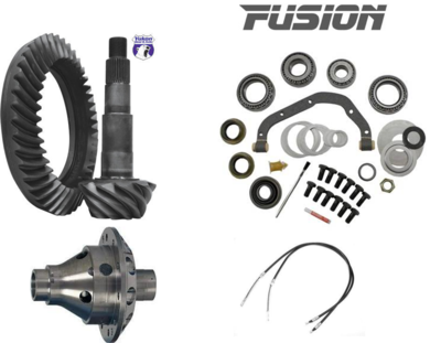 99-04 Ford Sterling 10.5 Traction, Gears, Master Install Kit, JK E-Brake Cables!