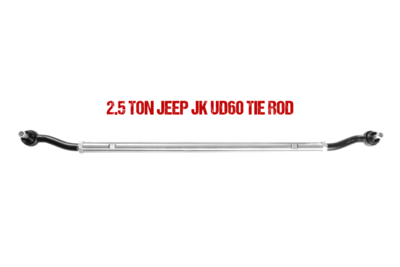 Fusion 2.5 Ton Tie Rod for 1999-04' Super Duty Axle (JK Swap)