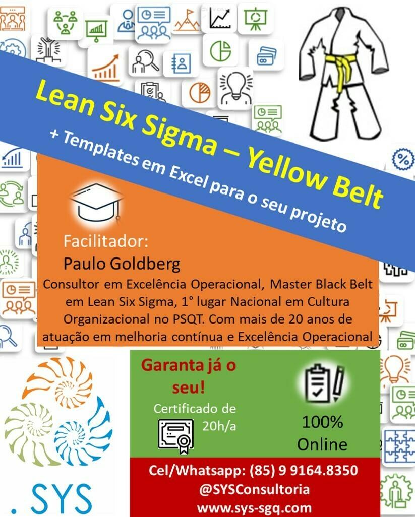 EAD - Formação e Certificação em Lean Six Sigma - Yellow Belt