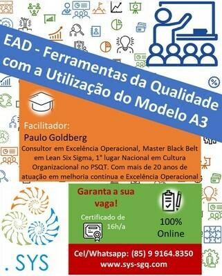 EAD - Ferramentas da Qualidade com Modelo A3
